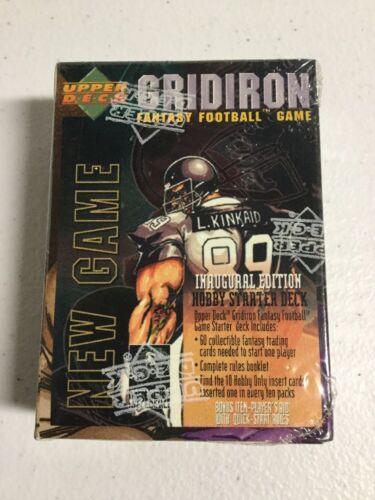 GRIDIRON Fantasy Football Inaugural Edition CCG HOBBY STARTER DECK TCG