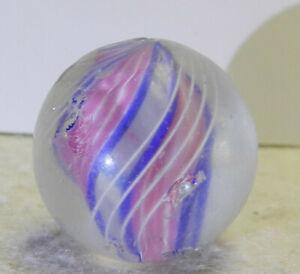 #13103m Bigger .94 Inches German Handmade Divided Ribbon Swirl Shooter Marble