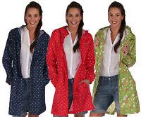 RRP £45 REGATTA LADIES LIGHTWEIGHT WATERPROOF BREATHABLE LONG JACKET   Pip