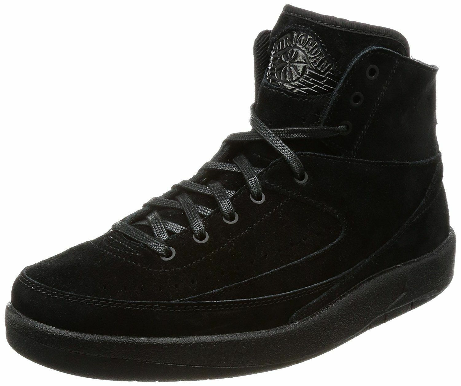 Air Jordan 2 Retro Decon Men's Basketball shoes Size 8 Black 897521-010 (NEW)