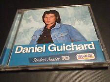 """CD """"DANIEL GUICHARD - TENDRES ANNEES 70"""" best of 17 titres"""