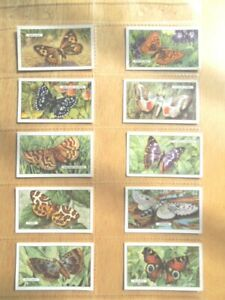 1938-Gallaher-BUTTERFLIES-amp-MOTHS-butterfly-set-48-cards-Tobacco-Cigarette