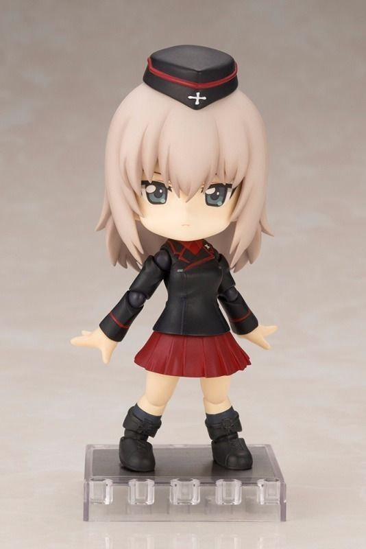 Cu-poche GIRLS und PANZER ERIKA ITSUMI Action Figure Kotobukiya NEW from Japan