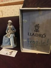 LLADRO #5996 Bless the Child Retired Madonna Mary Baby Jesus With Child Religion