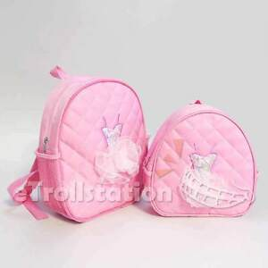 003ac8d8a9c5 Lovely Girls Backpack Dance Bag Ballet Tutu Tap Quilted Dress Light ...