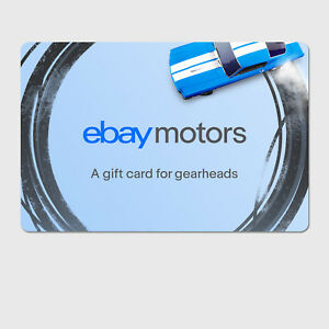 Ebay Motors Gearhead Digital Gift Card 25 To 200 Email Delivery Ebay