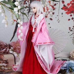 1//3 1//4 1//6 BJD Clothes Japanese Kimono Suit Bathrobe/&Headwear/&Socks AOD DOD MID