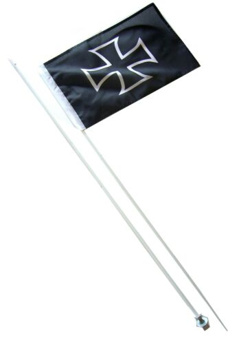 CANAM CAN AM MAVERICK X3 POLARIS RZR 2 PART 7/' ATV WHIP FLAG GLAMIS IRON CROSS