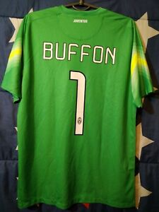 lowest price 115c7 d04a4 Details about SIZE M Juventus Italy 2014-2015 Goalkeeper Football Shirt  Jersey Buffon #1