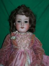 """Antique Armand Marseille A4M 390 Bisque Composition Germany Girl Doll 20"""" Tall"""