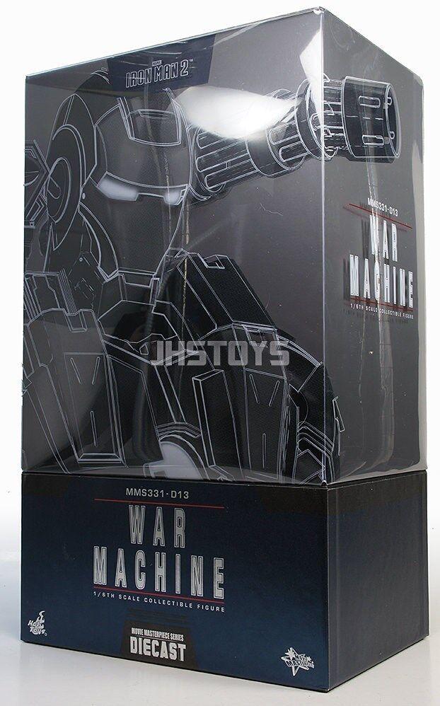 Hot Toys Iron Man 2 1 6 6 6 Diecast MMS331D13 máquina de guerra  Obtén lo ultimo