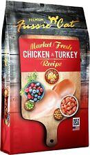 Fussie Cat 32065 Market Fresh Chicken & Turkey Recip 10 LB B6 Fatty Acids
