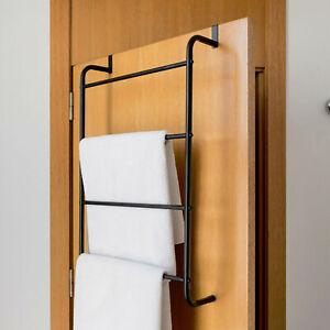 Over the Door Hanging Towel Rail Modern Bathroom Towel ...