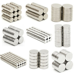 Neodymium magnets n52 super strong disc rare earth craft for Super strong magnets for crafts