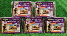(14€/KG) 5x Mestemacher Karotten Eiweißbrot 5% Karotten eiweißreiches Abendbrot