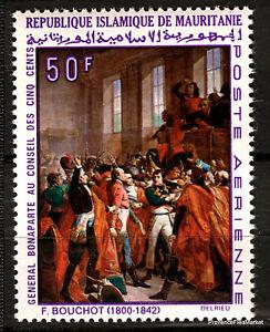 Stamp-New-Napoleon-Bonaparte-Paintings-Mauritania-88M349