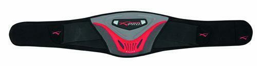 Cintura Faschia Lombare Protettiva Regolabile Velcro Moto Scooter Custom Nero L
