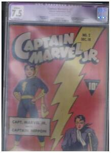 Fawcett-Publications-Captain-Marvel-Jr-2-Apparent-CGC-7-5-VF-Origin-Cap-Nippon