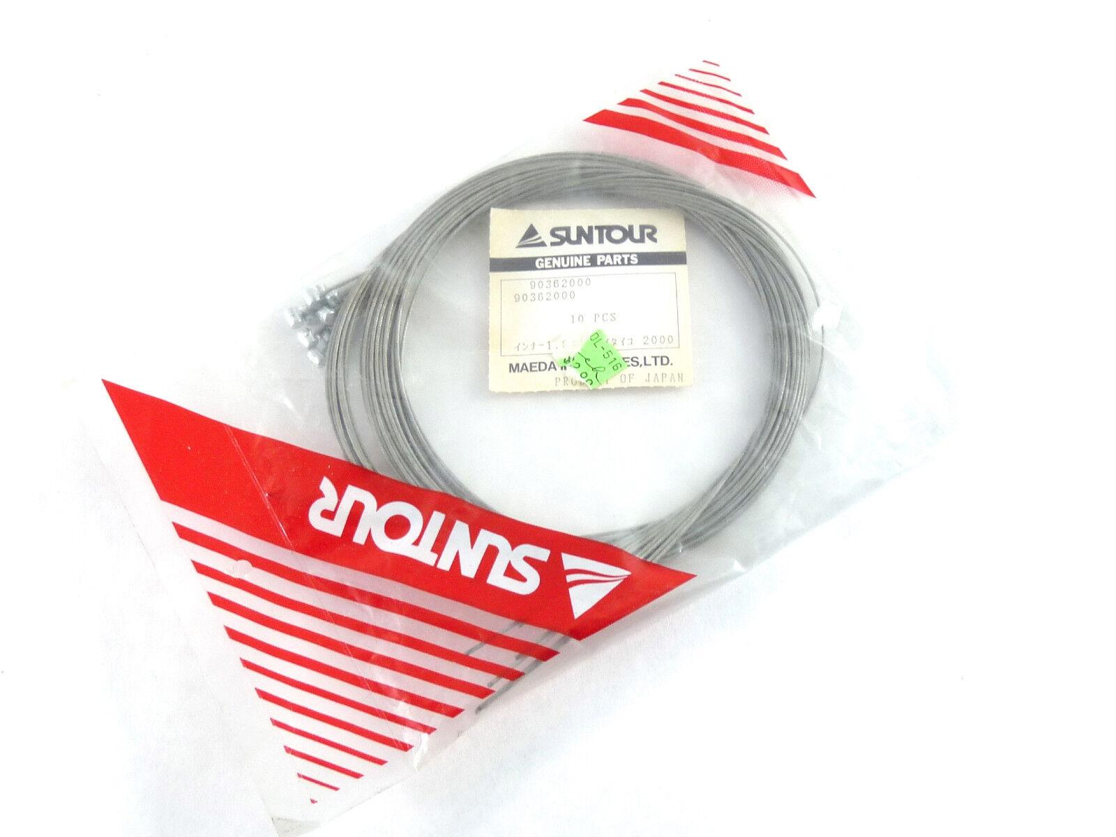 Suntour Xpress shifter cables Special head Vintage Bike Wire NOS x 10 cable LOT