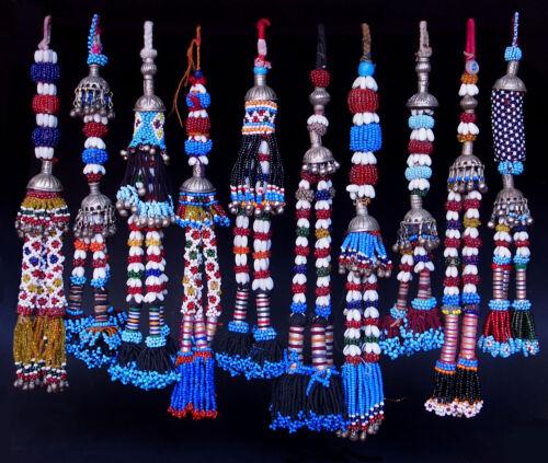 1 pc nomad KUCHI Tribal dance troddel Quasten VINTAGE BANJARA ATS GYPSY TASSEL