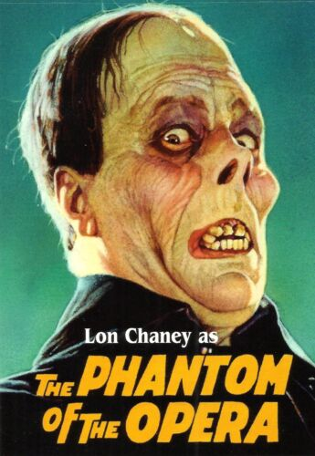 LON CHANEY AS THE PHANTOM OF THE OPERA OFFICIAL PRESTAMPED USPS POSTCARD