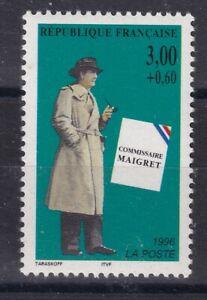 France année 1996 Héros Français Roman policier Maigret N° 3029** réf 6874