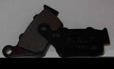 Pastiglie Freno Posteriore BREMBO Per APRILIA SL SHIVER 750 2009 2010 07BB0235