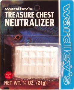 Wardley Treasure Chest Neutralizer Block For Tropical Fish 2 X 21g Bright Luster Cleaning & Maintenance