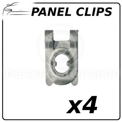 Panel de clips de cubierta Audi a1//a2//a3 A3 limousine//a4 Pack De 4 parte número 11509