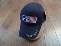 U.s Military Air Force Hat U.s American Flag Embroidered Ball Cap