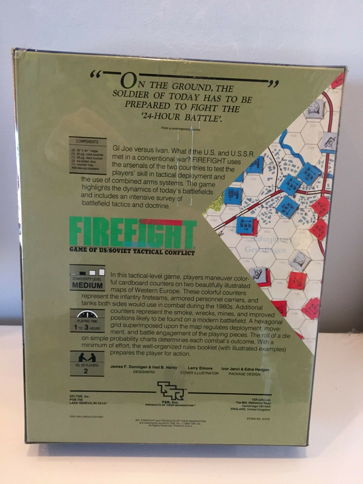 Firefight Game Game Game Of US Soviet Tactical Conflict TSR