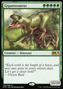 Gigantosaurus-NM-M-Magic-Game-Night-M19-Magic-MTG