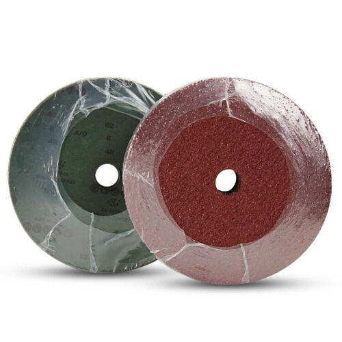"""25 Pack 7/"""" Black Hawk 24 Grit A//O Resin Fiber Disc Grinding /& Sanding Discs"""
