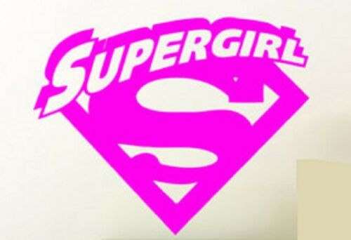 SUPERGIRL Vinyl Decal Sticker for Car Truck Bumper Window DC Superhero Comic