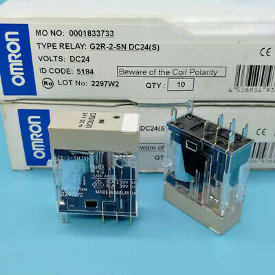 DC24V free shipping S NEW Lot of 10pcs Omron relays G2R-2-SND G2R-2-SND