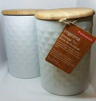 NEW Typhoon Living Bread Bin 34x20cm Black