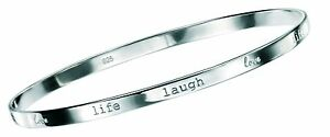 Sterling-Silver-Ladies-Love-Life-Laugh-Bangle-Comes-With-Velvet-Gift-Pouch