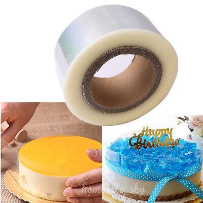 200M Plastic Mousse Cake Transparent Membrane Baking Surrounding Edge Tape