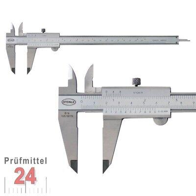 Tiefenmessschieber 150//200//300mm Messchieber Schieblehre Werkstattmessschieber