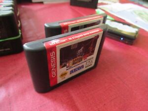 NBA-Action-039-95-Starring-David-Robinson-Sega-Genesis-1995-Cleaned-and-tested