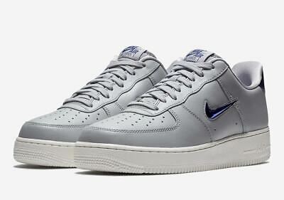 save up to 80% latest fashion best selling Nike MEN'S Air Force 1 '07 LV8 Leather JEWEL Wolf Grey Royal SIZE ...