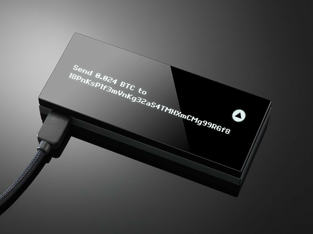 KEEPKEY: THE SIMPLE CRYPTOCURRENCY HARDWARE WALLET BLACK - AUTHORIZED RESELLER 1
