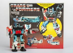 SMOKESCREEN Transformers G1 REISSUE Action Figure Auotobots Gift Kids Christmas