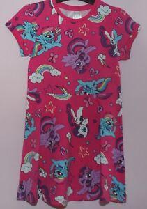de86538aa Girls Pink Mix Flared MY LITTLE PONY 100% Cotton Dress - sizes 2 ...