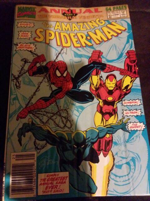Amazing Spider-Man #25 Annual Marvel Comics 1991 NM