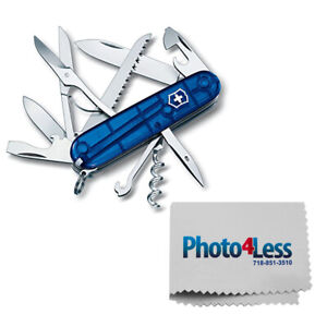 Victorinox Swiss Army Huntsman Pocket Knife Translucent