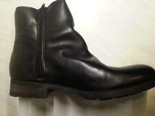 Buffalo Stivali In Pelle, Tg. 40, UVP 119,90 €, Fb. NERO, NUOVO IN SCATOLA ORIGINALE