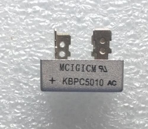 MCIGICM 1000V 50A KBPC5010 LOT DE 2 PONTS DE GRAETZ