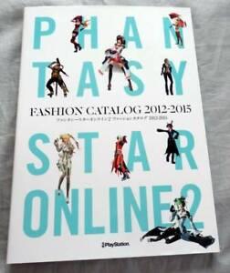 PSO2-Phantasy-Star-Online-2-Fashion-Catalog-2012-2015-Game-Guide-Book