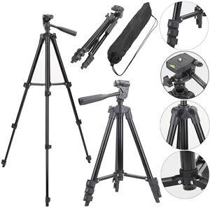 Professional-Aluminum-Tripod-Stand-Mount-Holder-for-Canon-Nikon-Sony-DSLR-Camera